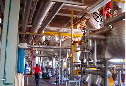 Montagem Sala de Máquinas, Sistema de Refrigeração